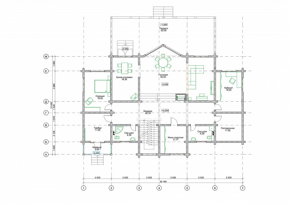 Проект дома «Алиса»