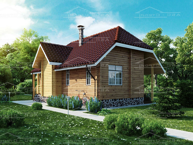 Проект дома «Опалево-М1 (одноэтажный)»