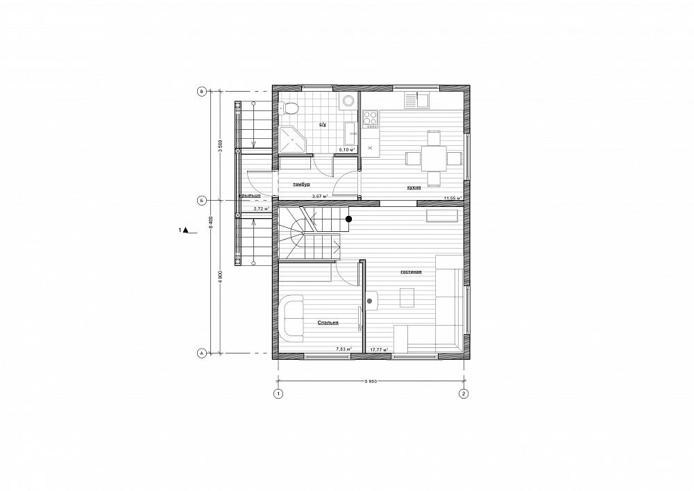 Проект дома «Умберто»