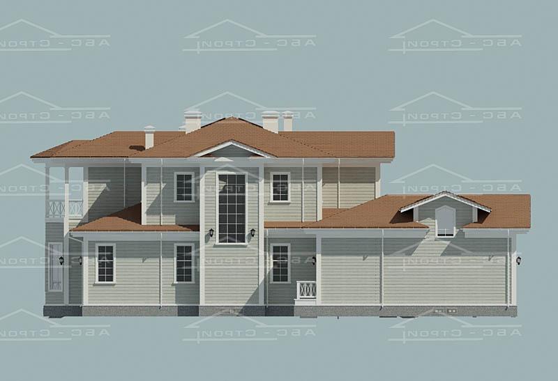 Проект дома «Белый шум»